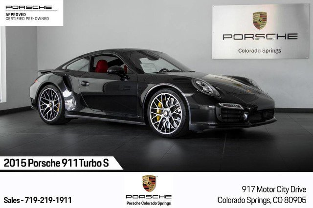 2015 Porsche 911 Turbo S image