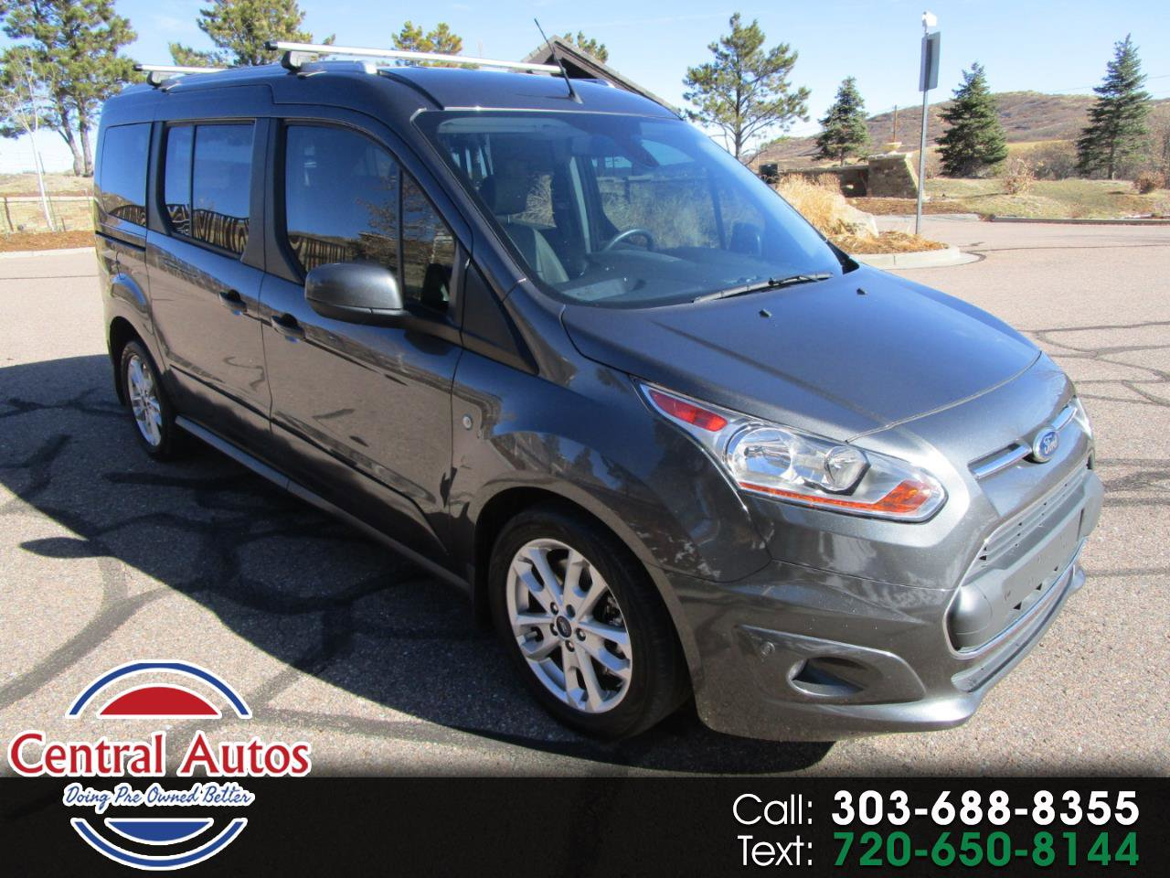 2015 Ford Transit Connect Titanium Long Wheel Base Wagon image