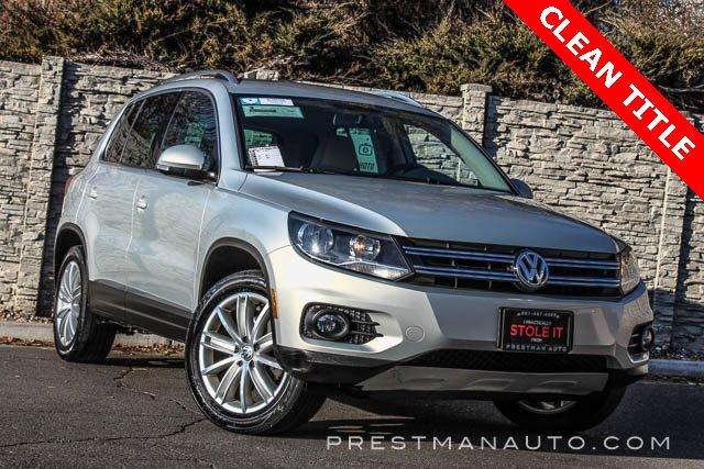 2014 Volkswagen Tiguan SE image