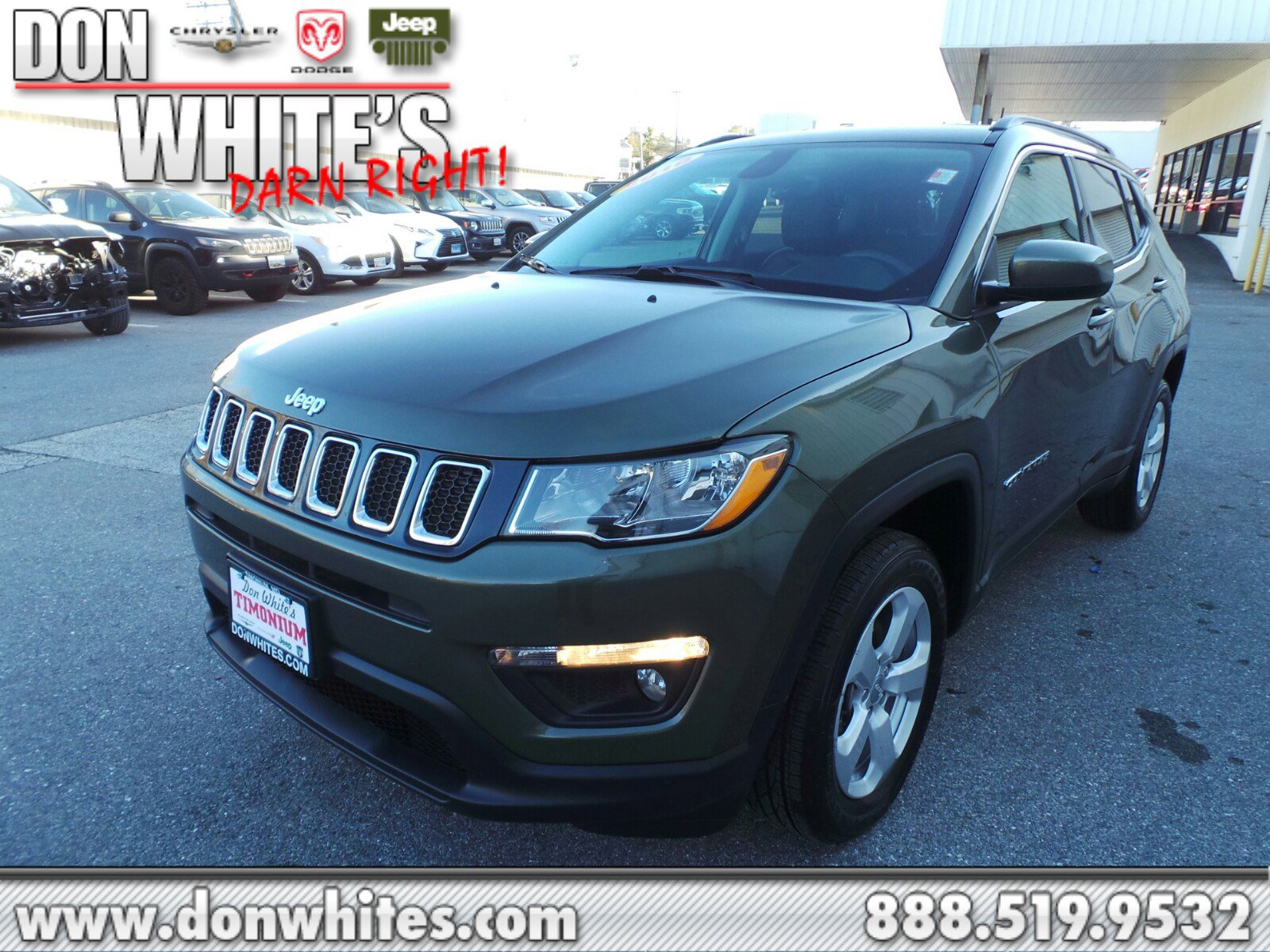 2018 Jeep Compass 4WD Latitude image