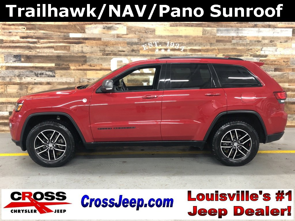 2017 Jeep Grand Cherokee 4WD Trailhawk image