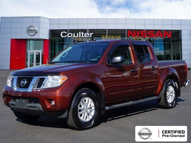 2017 Nissan Frontier Crew Cab SV image