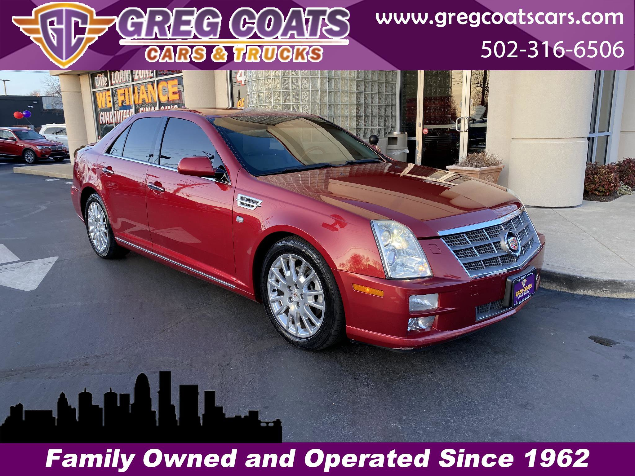 2011 Cadillac STS  image