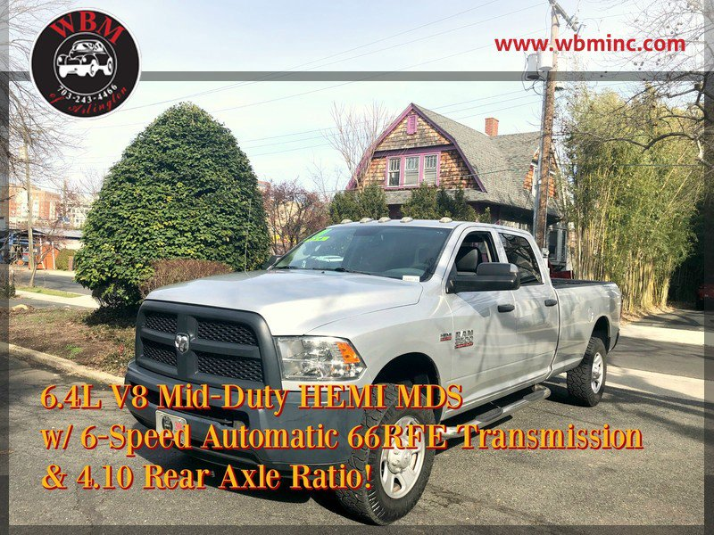 2014 RAM 3500 4x4 Crew Cab Tradesman image