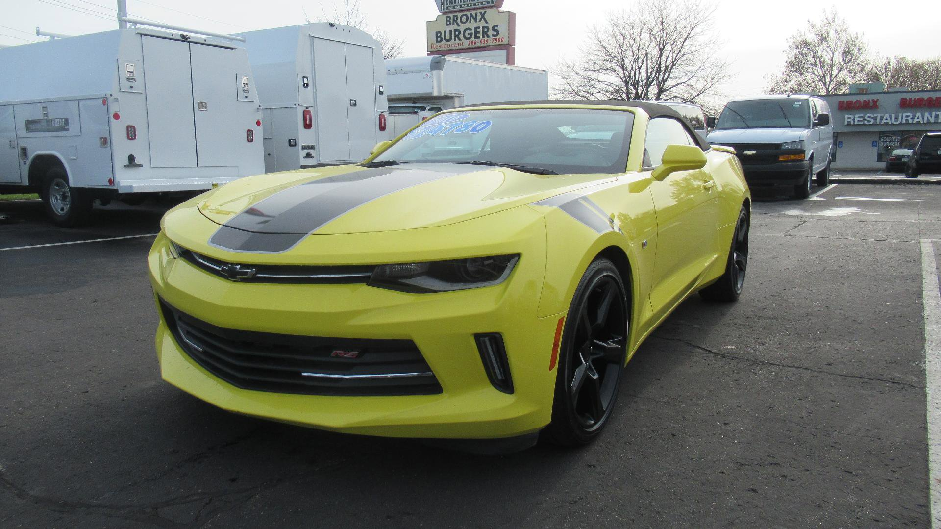 2016 Chevrolet Camaro LT Convertible w/ RS PACKAGE image