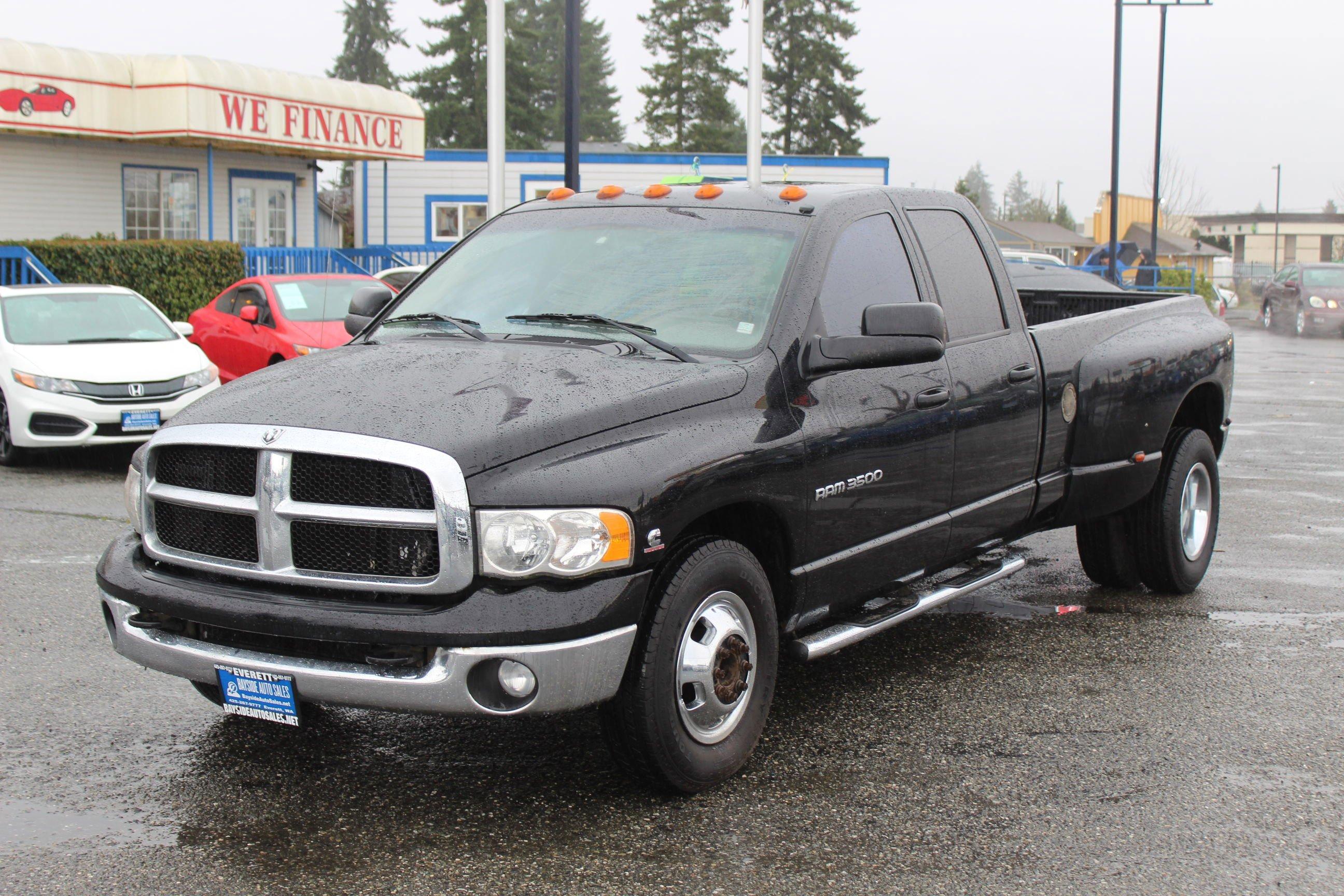 Dodge Ram 3500 Truck Under 500 Dollars Down