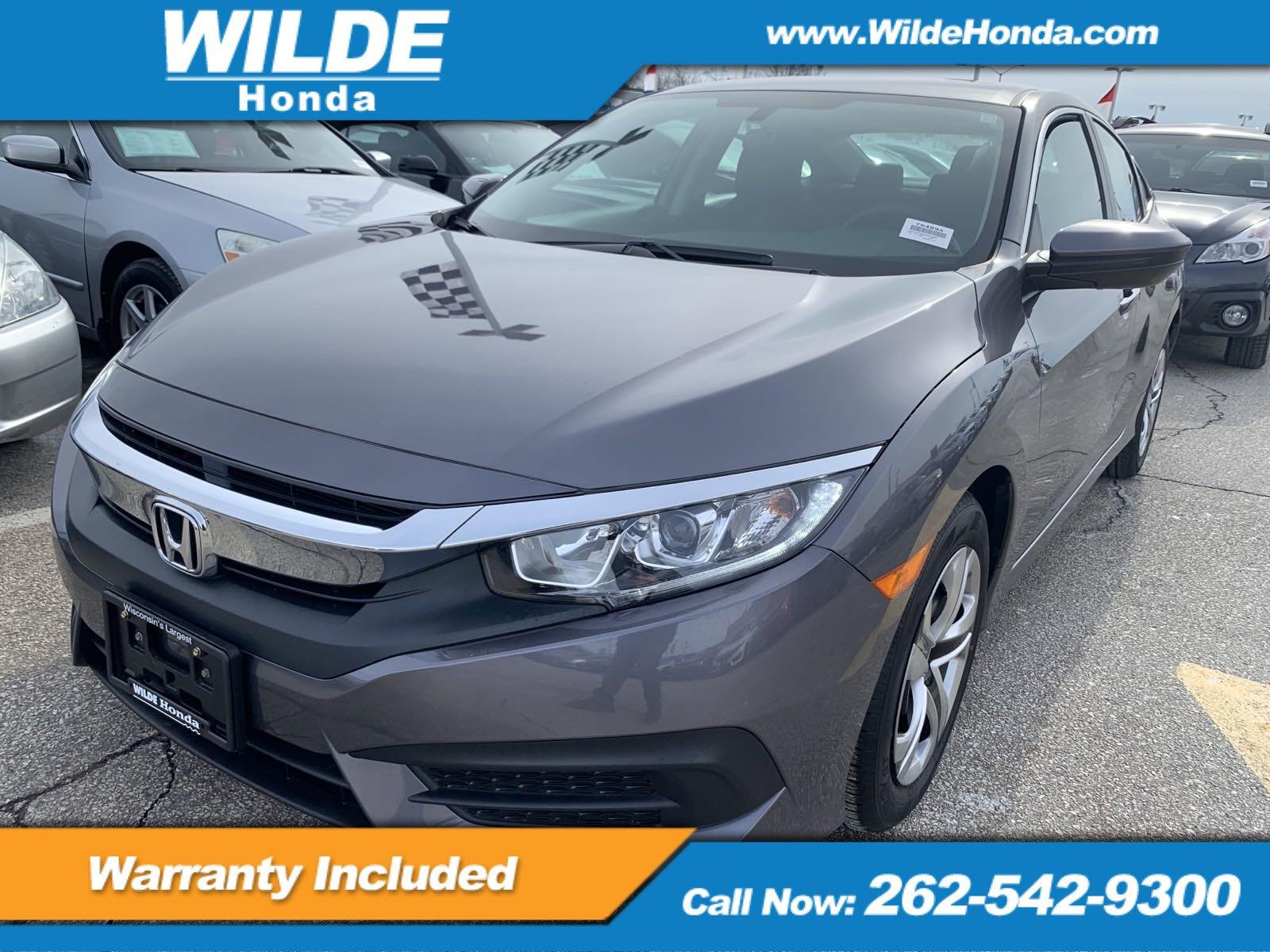 2017 Honda Civic LX Sedan image
