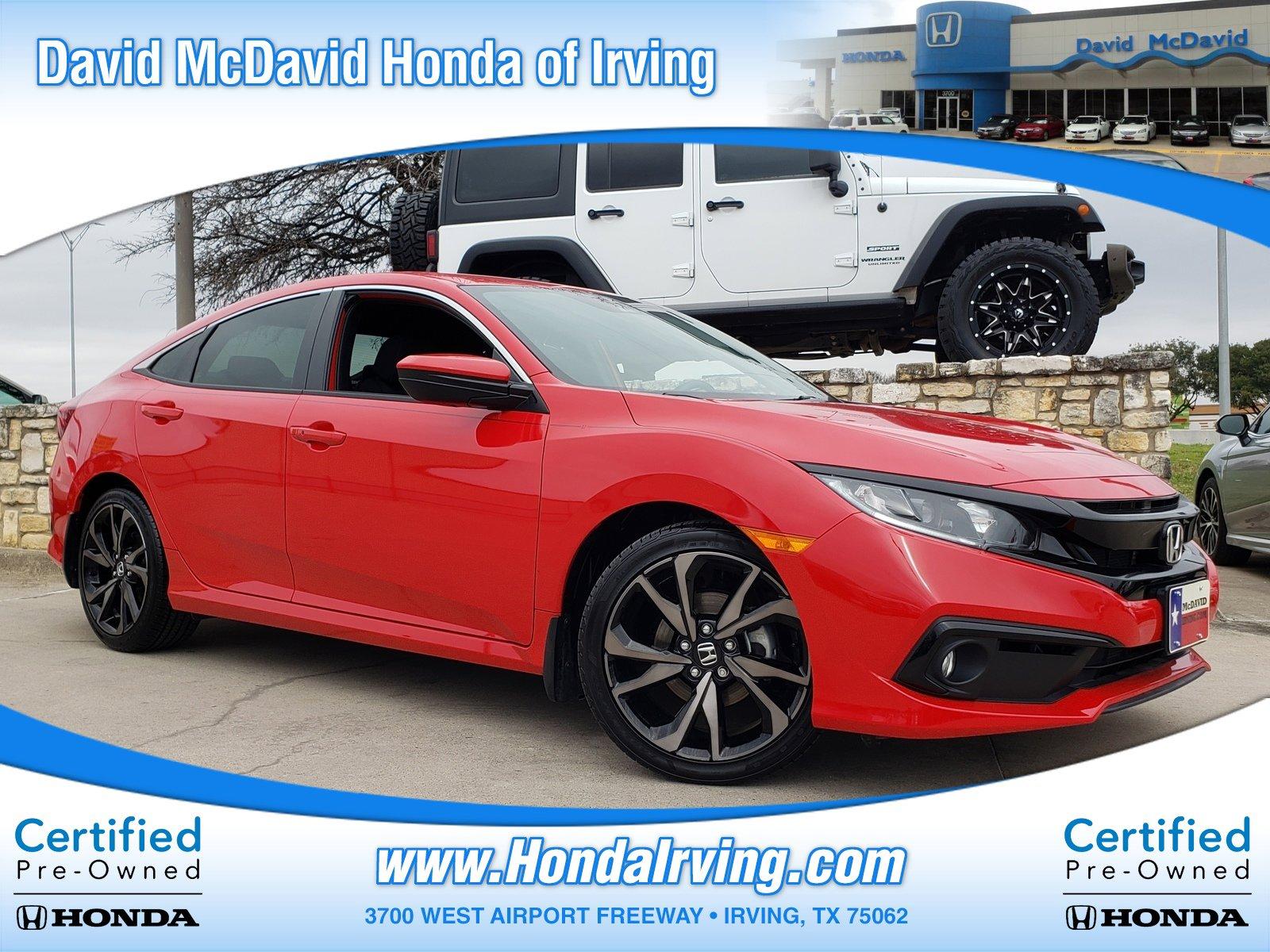 2019 Honda Civic Sport Sedan image