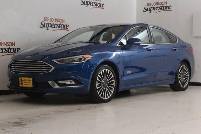 2017 Ford Fusion Titanium image