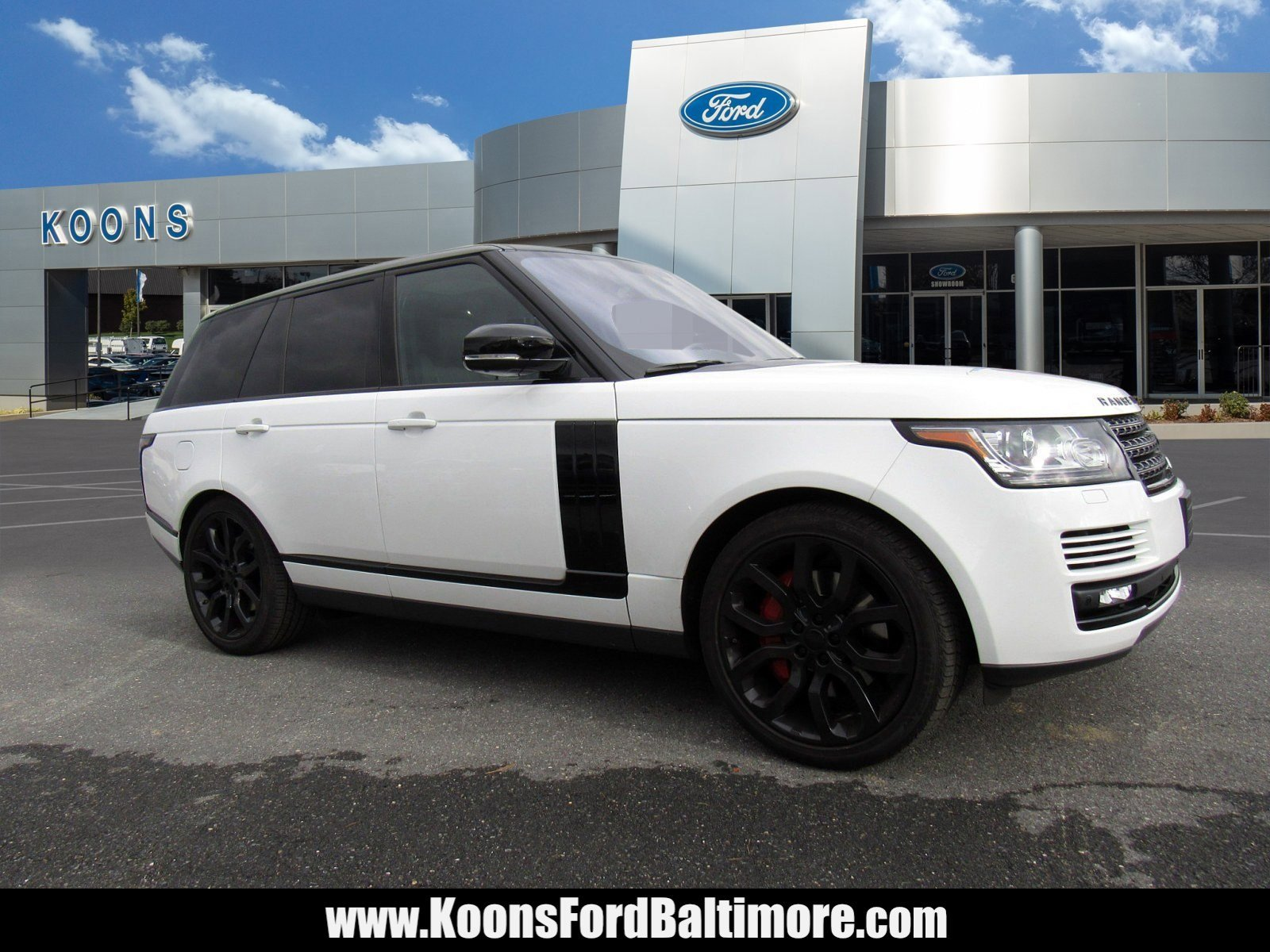 2016 Land Rover Range Rover HSE image