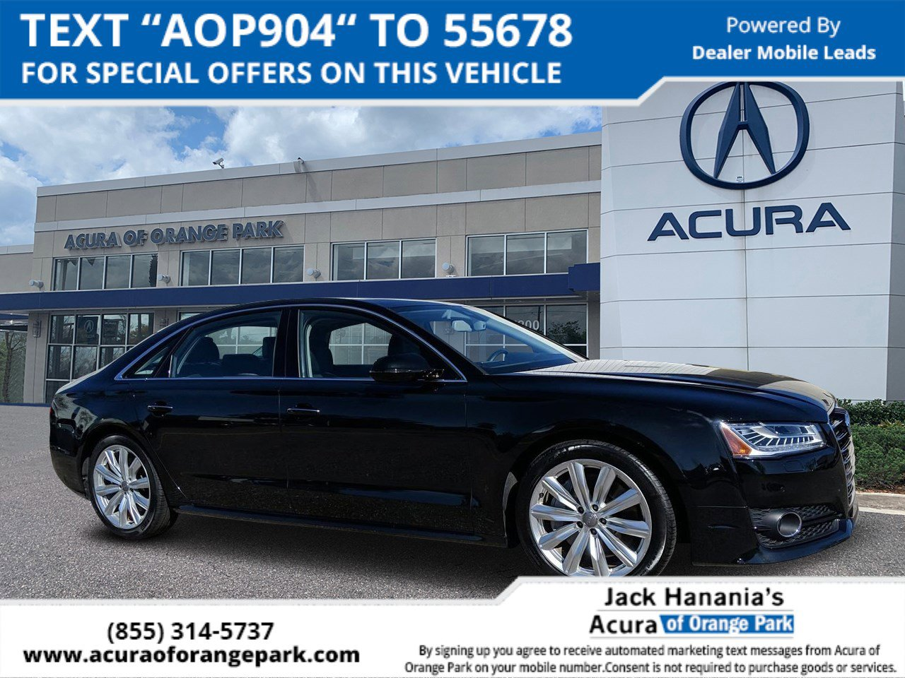 2017 Audi A8 L 3.0T w/ EXECUTIVE PACKAGE image