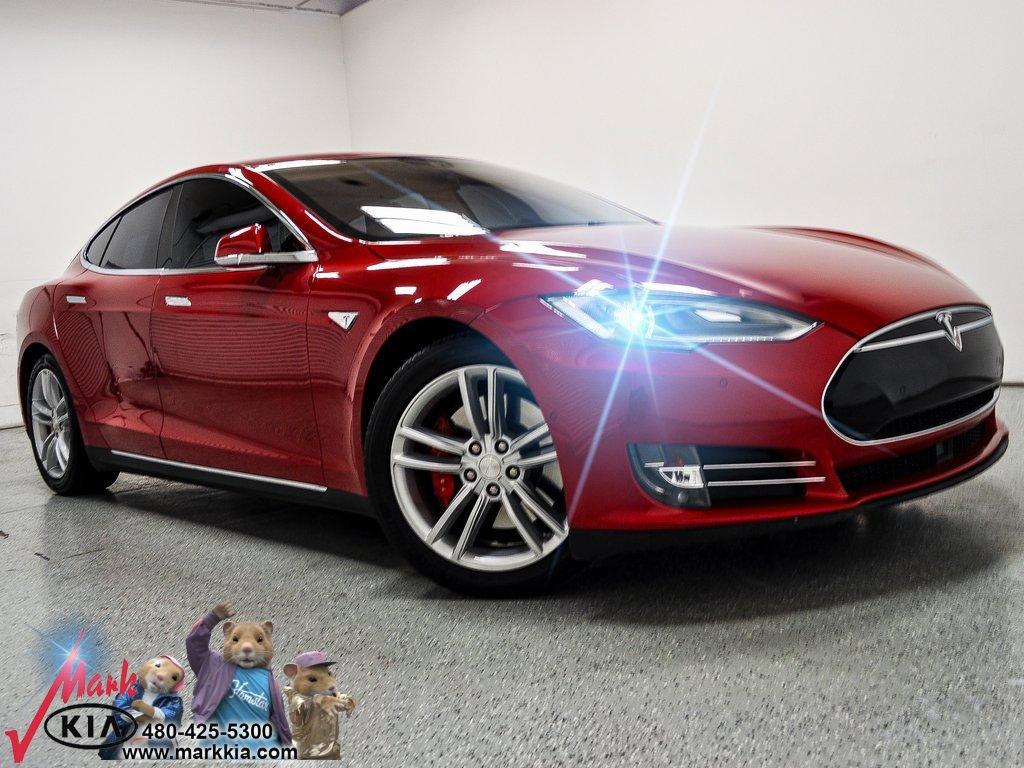 2016 Tesla Model S AWD Performance image