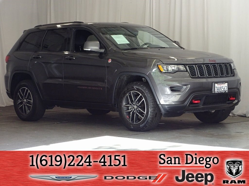 2017 Jeep Grand Cherokee 4WD Trailhawk image