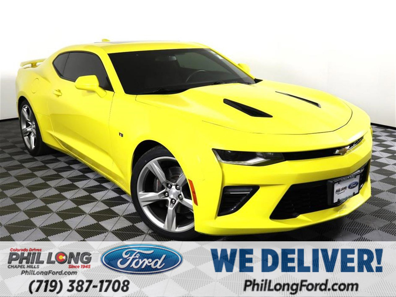 2018 Chevrolet Camaro SS Coupe w/ 1SS image