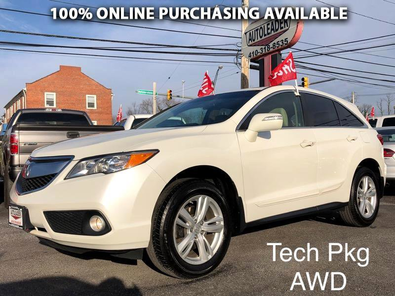 2013 Acura RDX AWD w/ Technology Package image