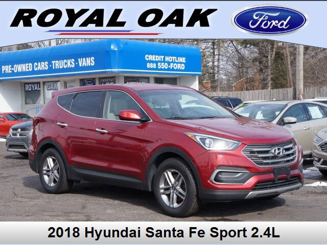 2018 Hyundai Santa Fe FWD Sport image