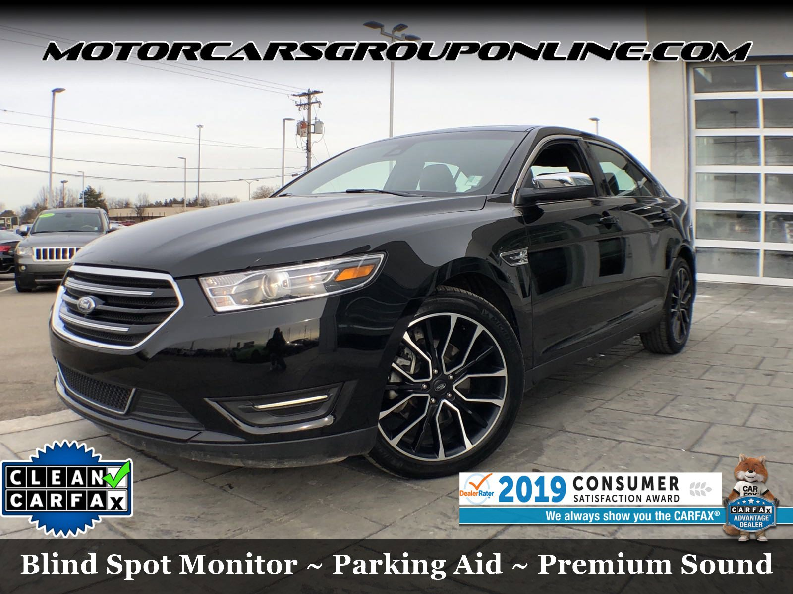 2019 Ford Taurus Limited AWD image