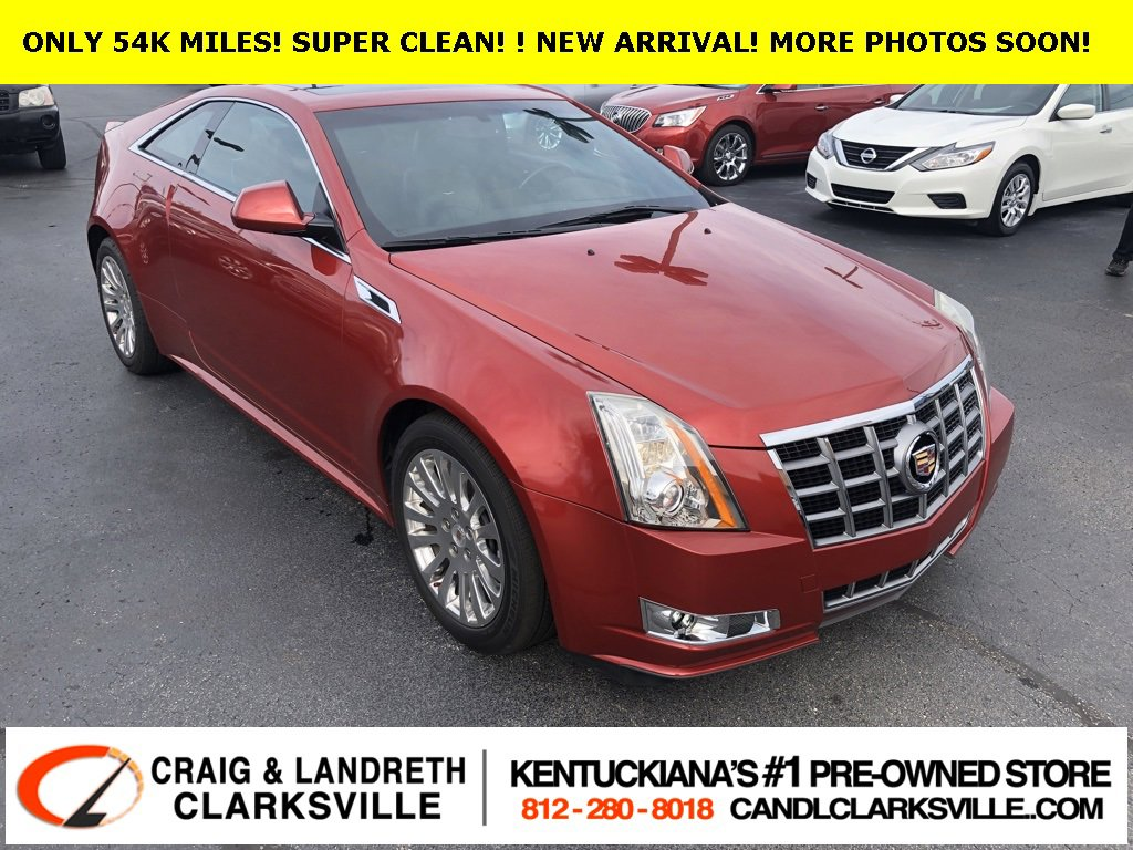 2012 Cadillac CTS Performance AWD Coupe image