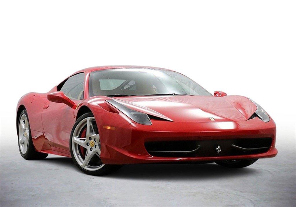 2014 Ferrari 458 Italia Coupe image