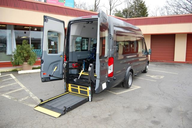 2017 Ford Transit 350 148 High Roof Extended Wagon image