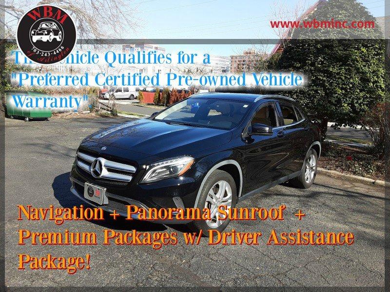 Mercedes-Benz GLA 250 Under 500 Dollars Down