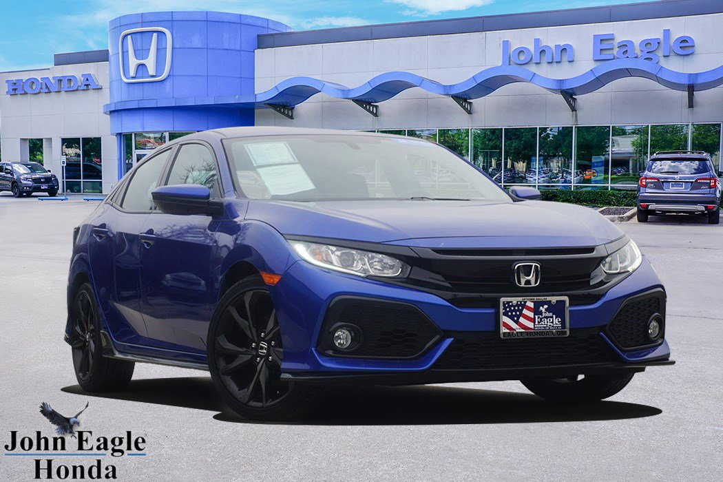 2017 Honda Civic Sport Hatchback image