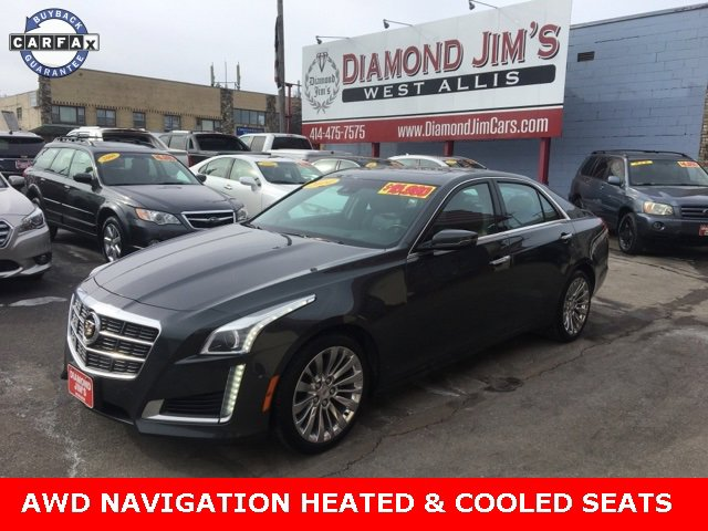2014 Cadillac CTS Performance AWD Sedan image