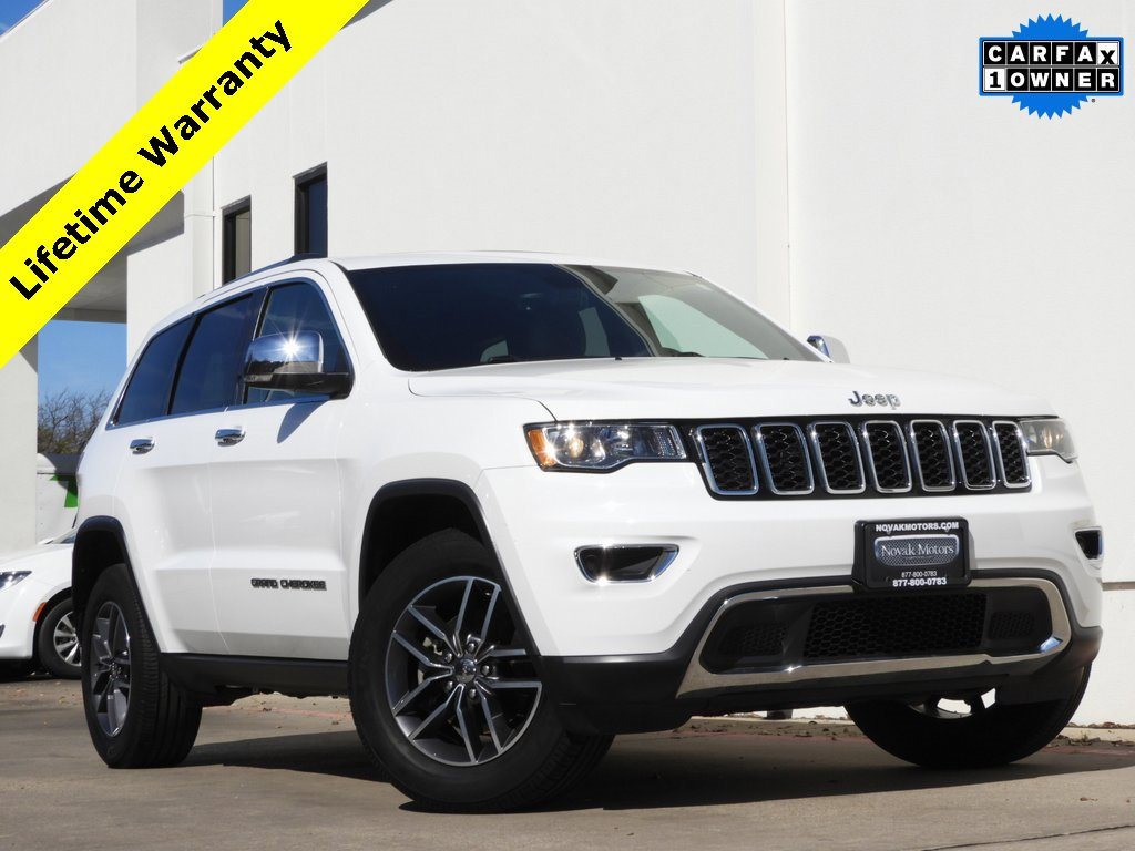 2017 Jeep Grand Cherokee 4WD Limited image