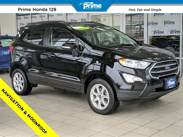 Ford EcoSport Under 500 Dollars Down