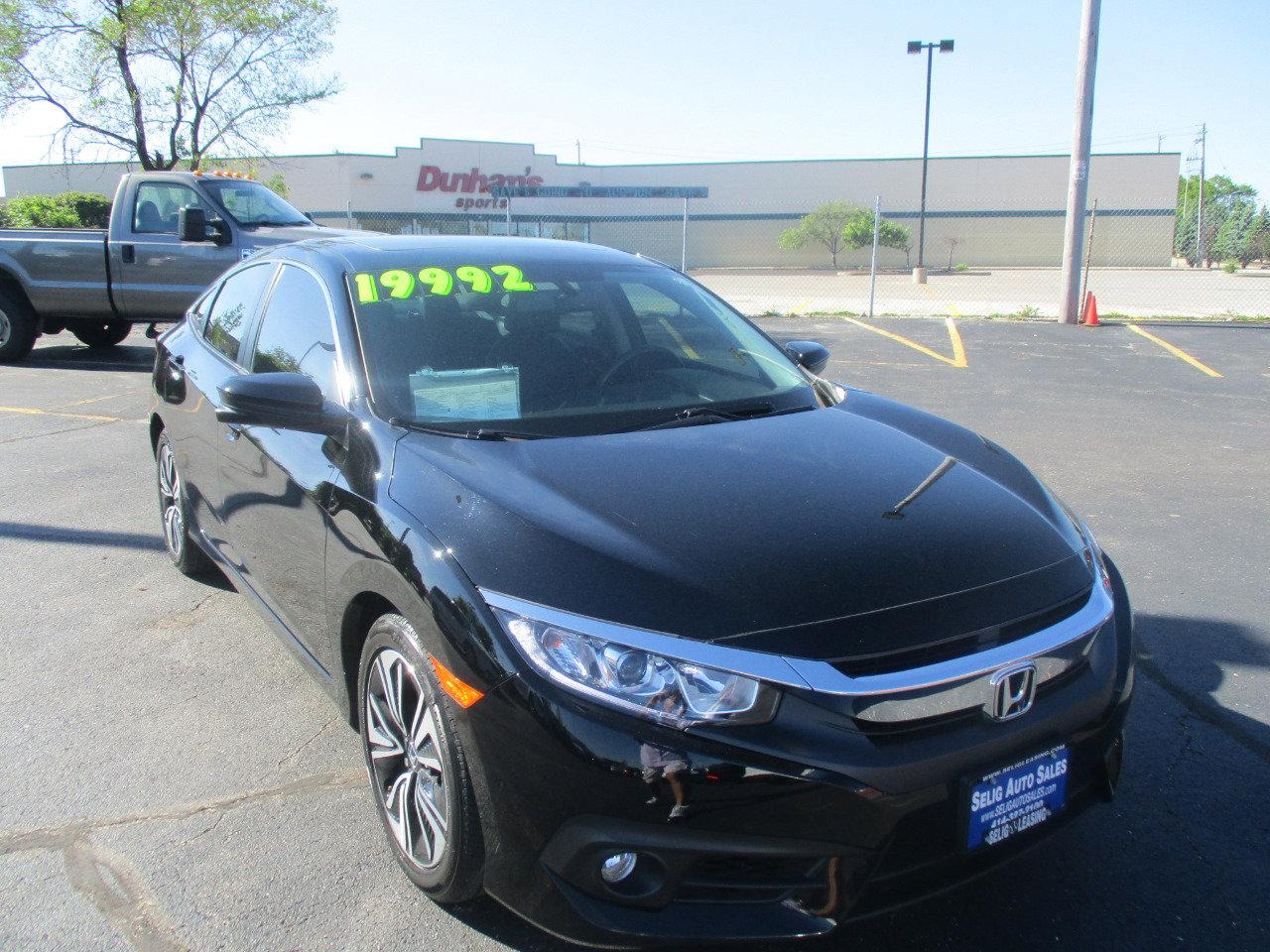 2017 Honda Civic EX-L Sedan image