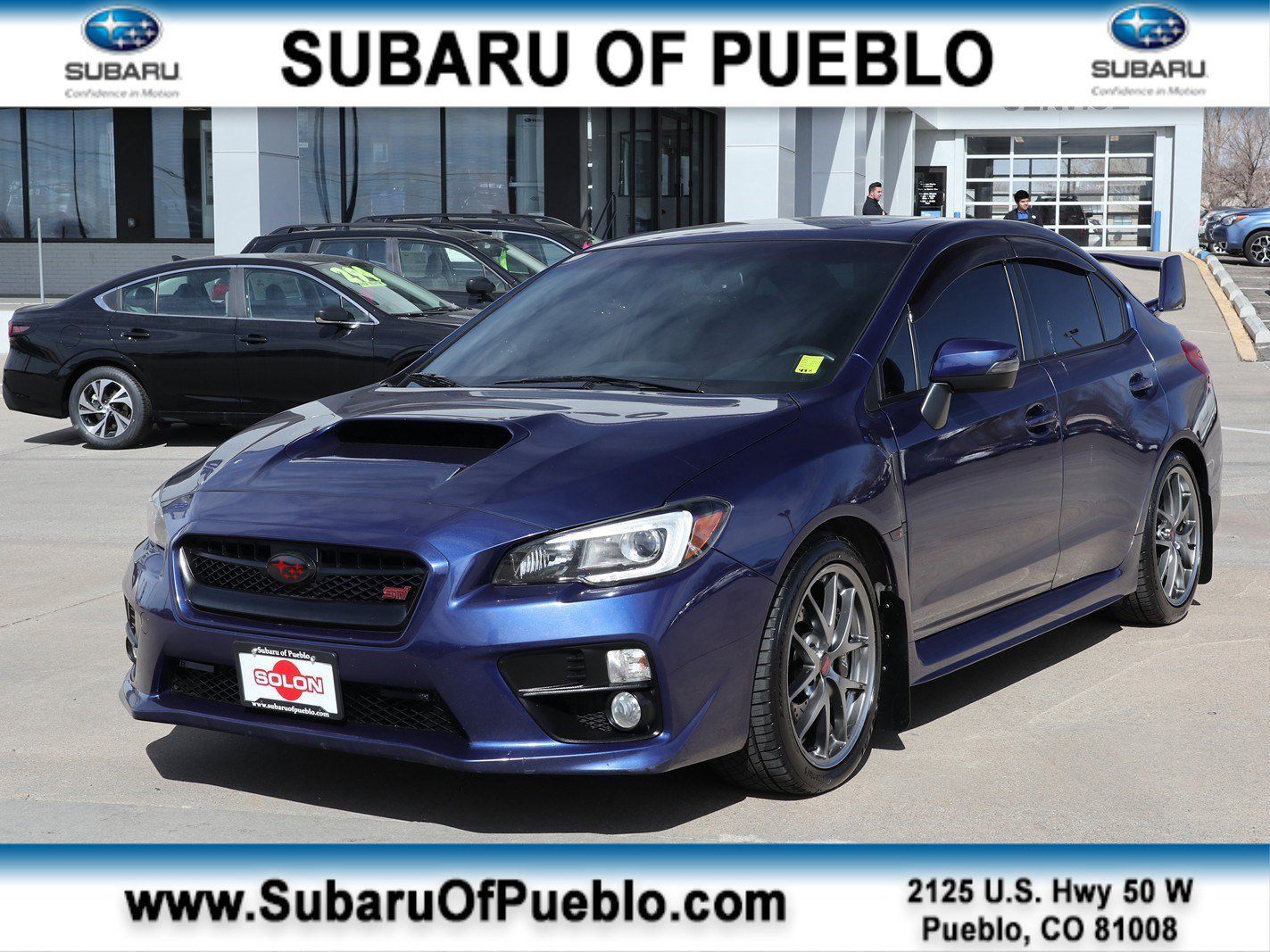 2016 Subaru WRX STI Limited image