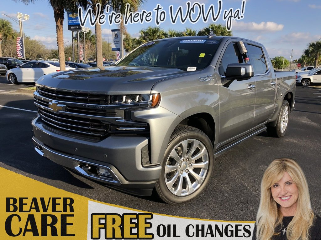 2020 Chevrolet Silverado 1500 4x4 Crew Cab High Country image
