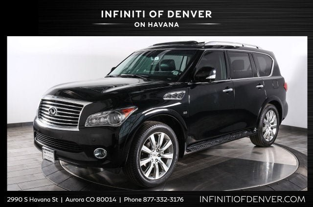 2014 INFINITI QX80 4WD w/ THEATER PACKAGE image