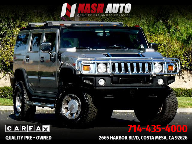 2005 HUMMER H2 Luxury image