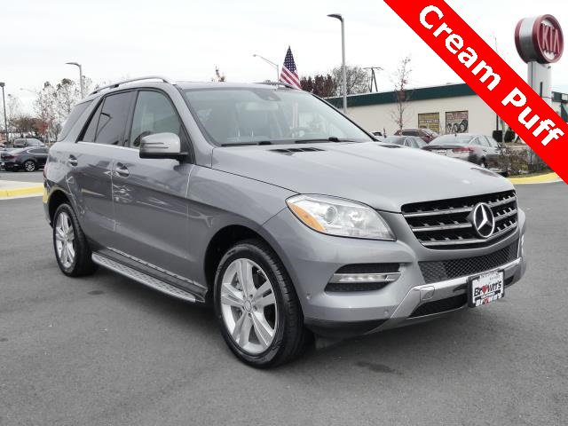 2013 Mercedes-Benz ML 350 4MATIC image