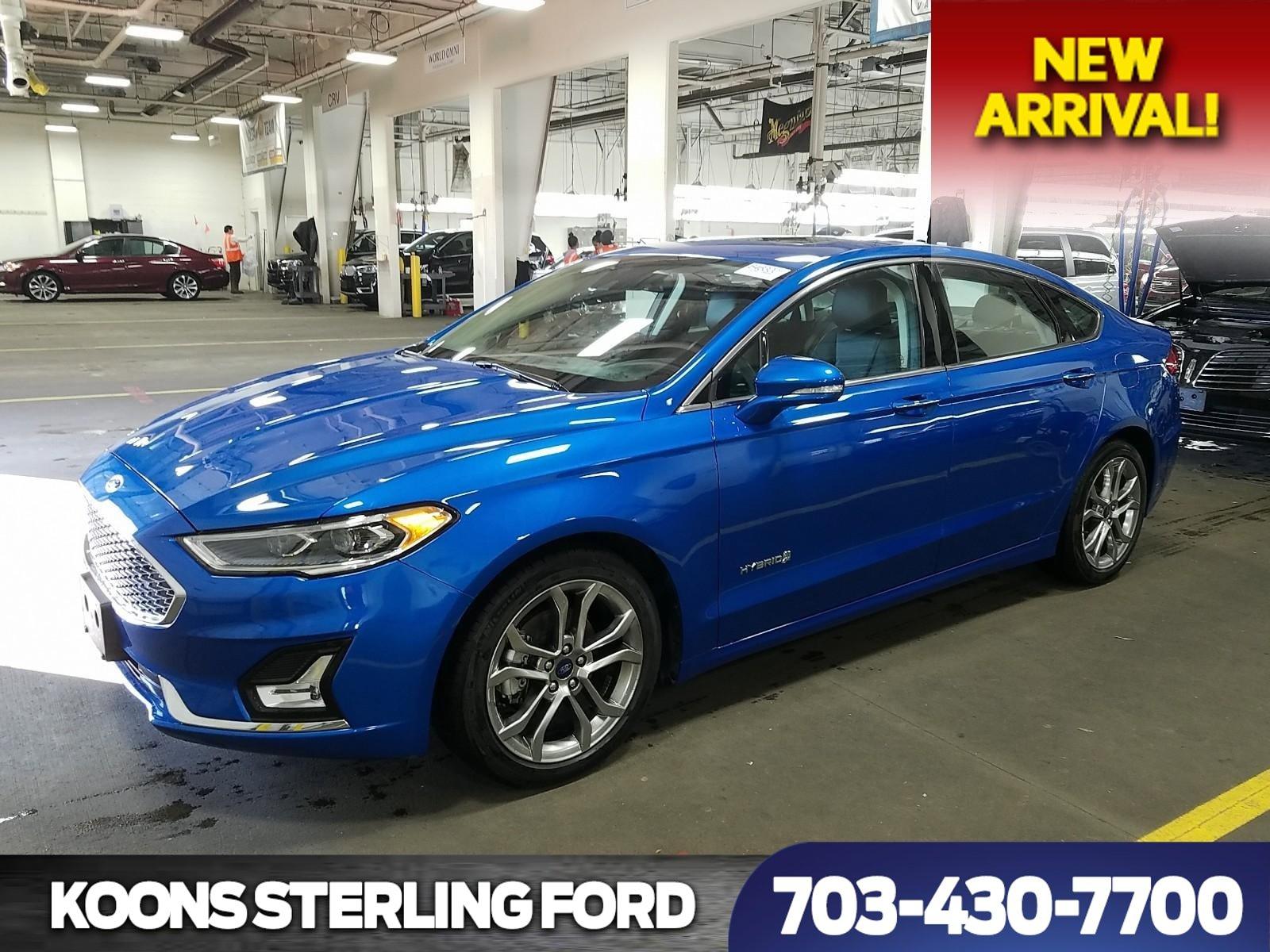 2019 Ford Fusion Titanium Hybrid image