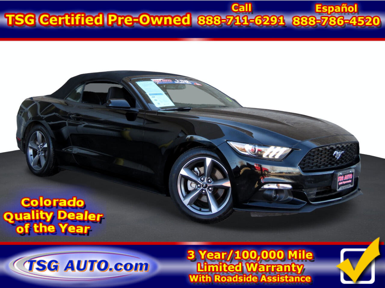 2016 Ford Mustang Convertible image