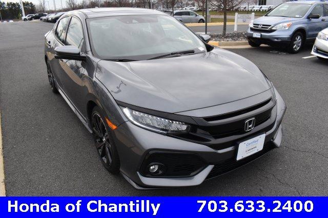 2017 Honda Civic Sport Touring Hatchback image