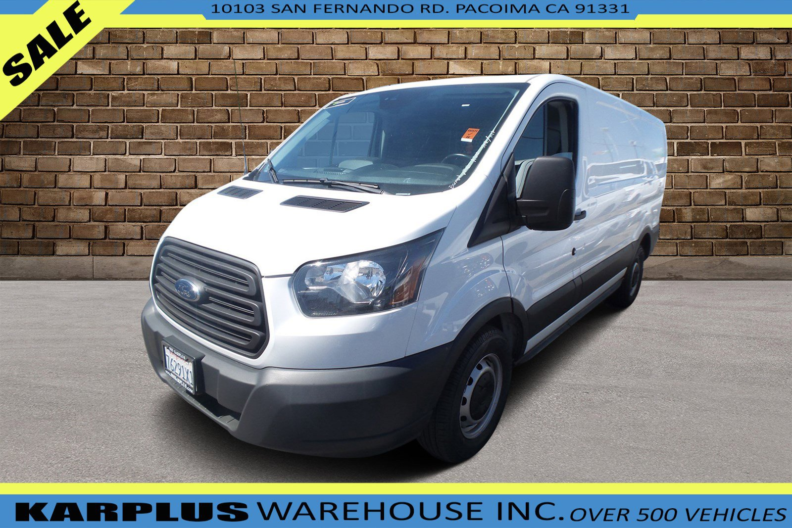 Ford Transit 150 Under 500 Dollars Down