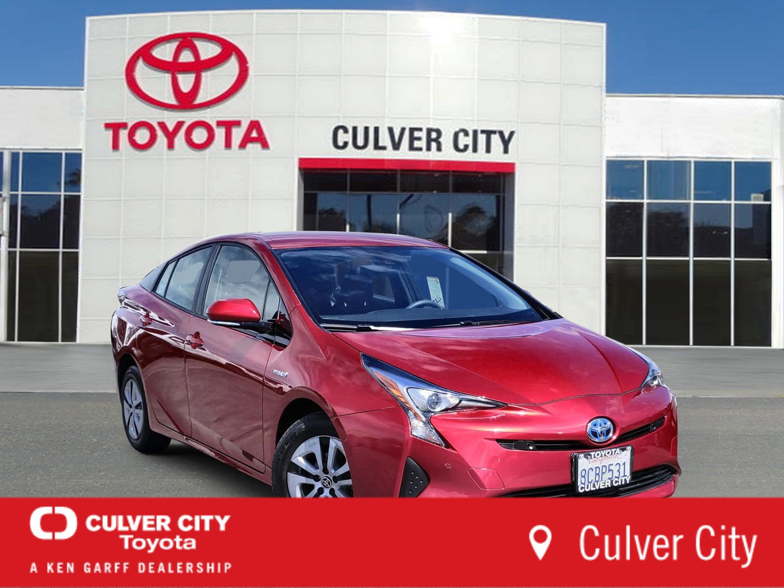 2017 Toyota Prius Two image