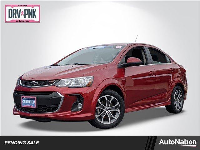 2018 Chevrolet Sonic LT Sedan w/ RS Package image