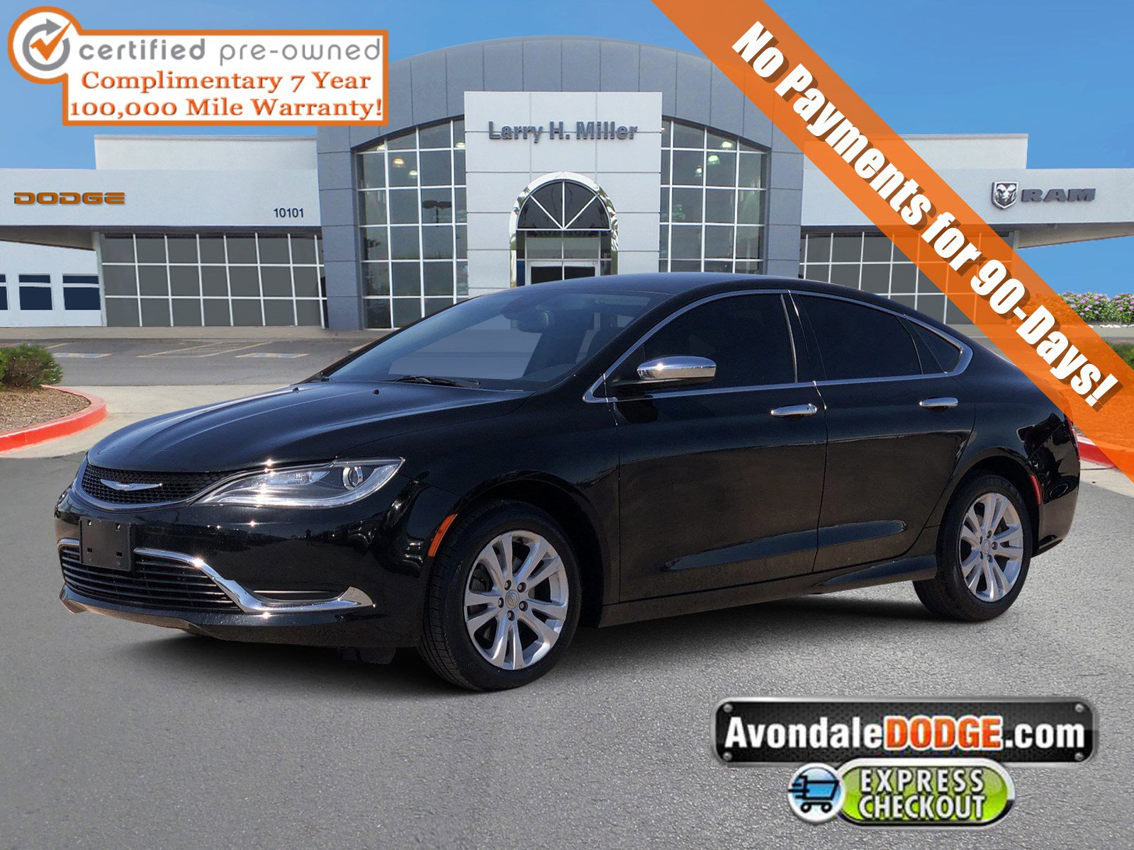 2016 Chrysler 200 Limited w/ Convenience Group image