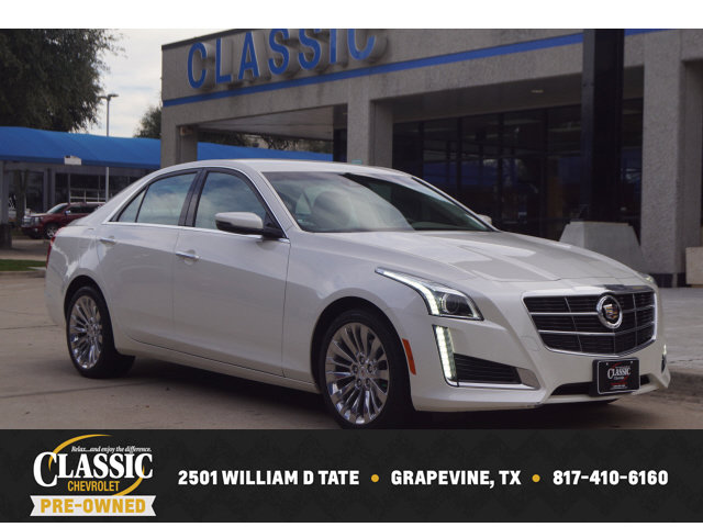 2014 Cadillac CTS Luxury AWD Sedan image