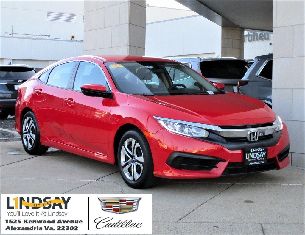 2016 Honda Civic LX Sedan image