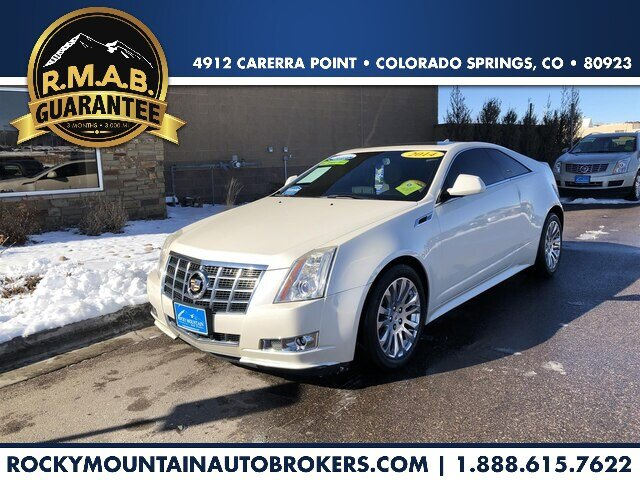 2014 Cadillac CTS Premium AWD Coupe image