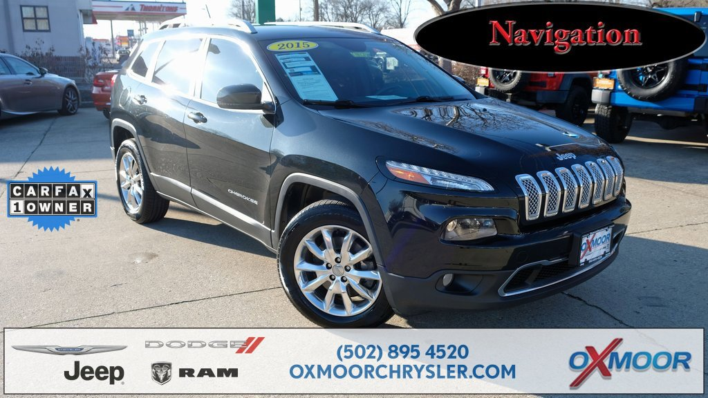 2015 Jeep Cherokee 4WD Limited image