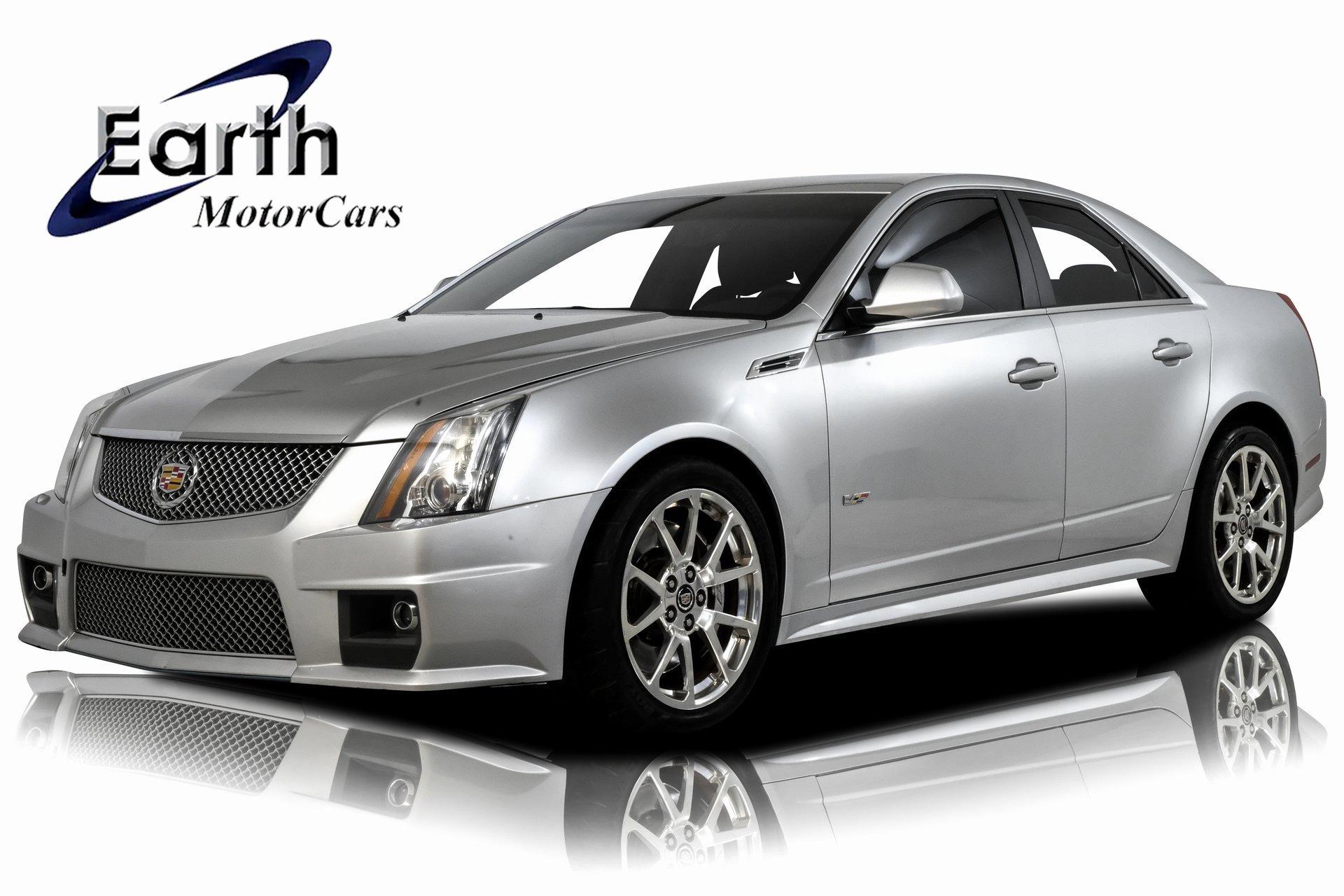 2010 Cadillac CTS V Sedan image