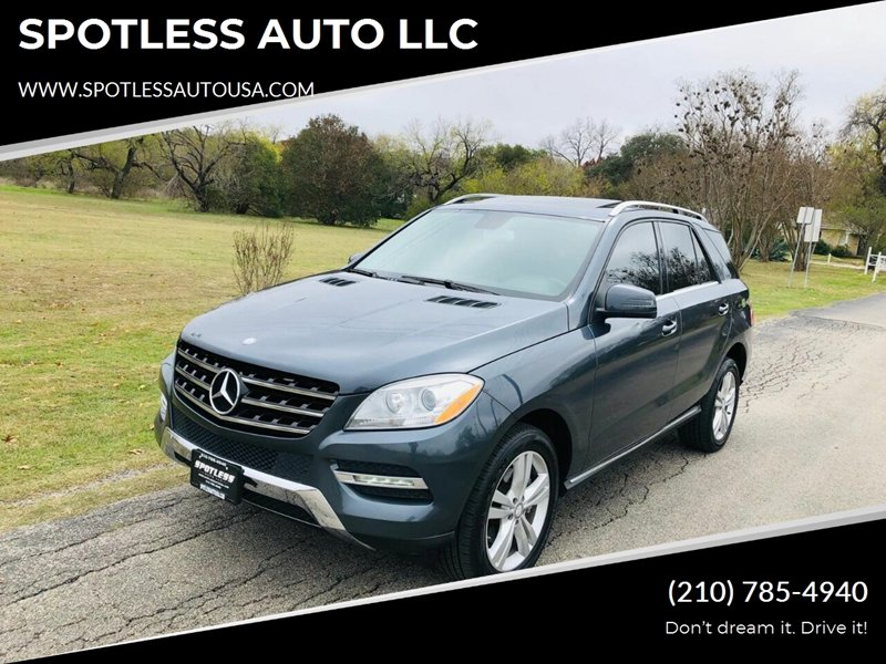 2013 Mercedes-Benz ML 350 2WD image