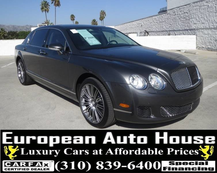 2009 Bentley Continental Flying Spur Speed image