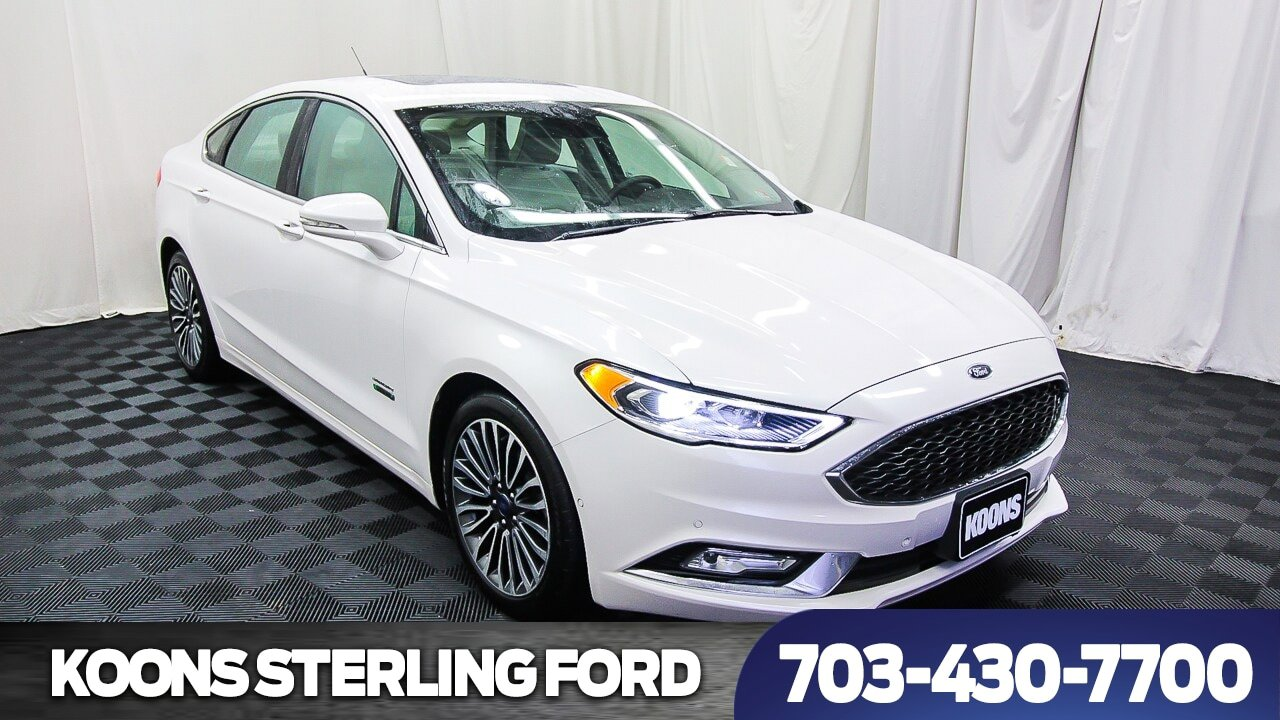 2017 Ford Fusion Platinum image